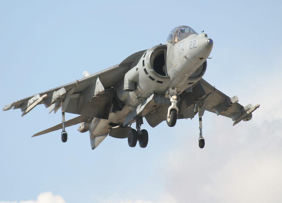 AV-8B Harrier jump-jet