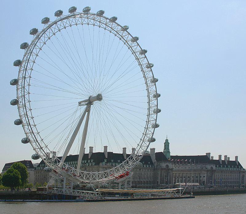 london eye LondonEyeFromNorthBank